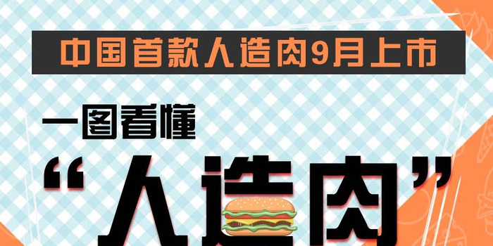 """中国首款人造肉9月上市 一图看懂""""人造肉""""的那些事"""