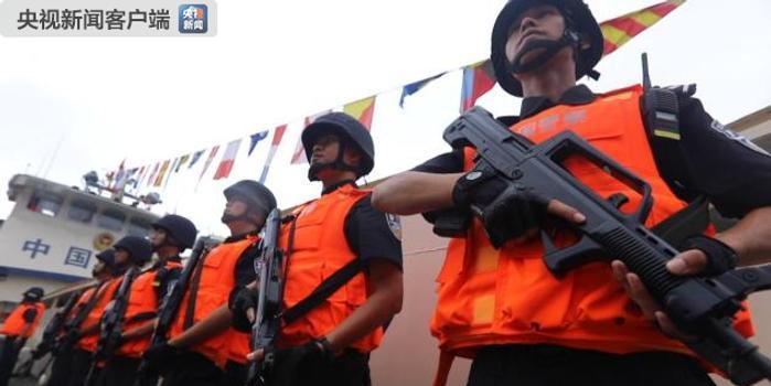 中老緬泰第85次湄公河聯合巡邏執法行動圓滿完成