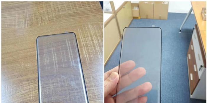 疑似小米MIX 4鋼化膜曝光:高占比曲面屏