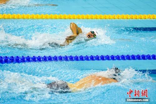 中国队破军运会赛会记载 夺须眉4×200米自由泳接力冠军