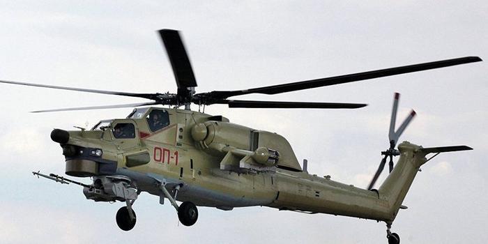 俄軍一架米-28武裝直升機墜毀 2名飛行員犧牲