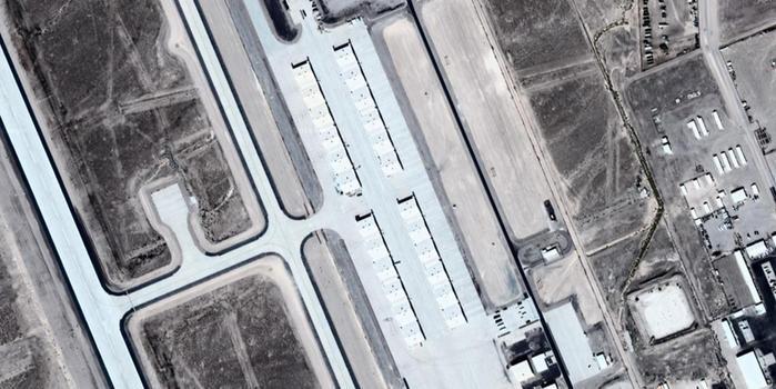 卫星照曝光美国空军最机密军机项目(图)