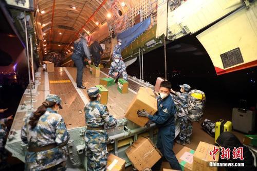 武汉机场全力做好进港医疗专包机运输保障工作