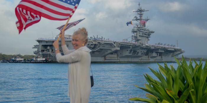 美軍航母在臺灣選舉期間缺席亞太 系24年來首次