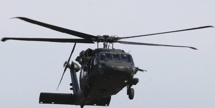 台官员谈黑鹰直升机坠毁:天气很好不应是气候因素