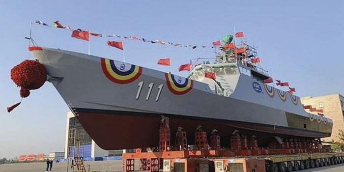 中国向马来西亚交付首艘濒海任务舰 总共建4艘(图)