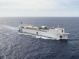 美国疫情比中国严重:美军医疗舰已开进纽约,我们都没动用过
