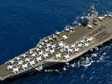 美国海军一艘航母上有多少架舰载机?