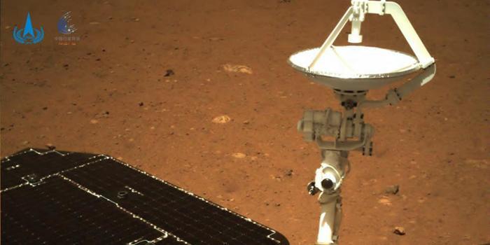 中国收到祝融号传回火星照片NASA再次祝贺_手机新浪网