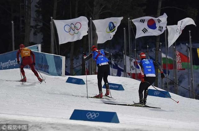 2018年2月14日,韩国,2018平昌冬奥会冬季两项,比赛因恶劣天气延期。