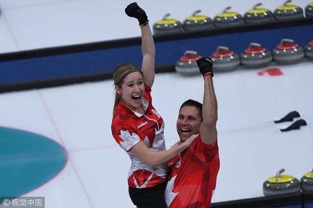 2月13日晚,平昌冬奥会冰壶混双决赛,加拿大组合10-3战胜瑞士组合获得金牌,瑞士获得银牌,俄罗斯奥林匹克队获得铜牌。
