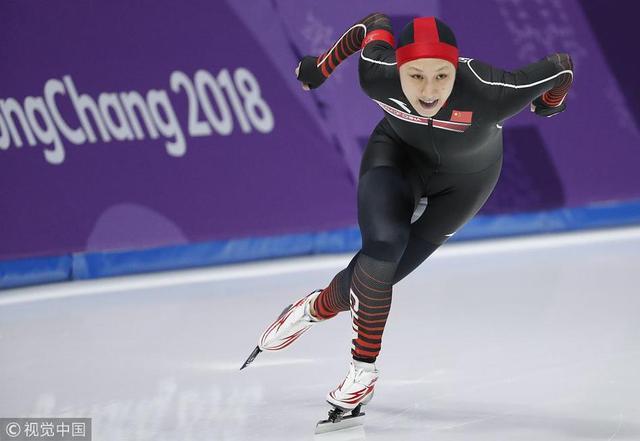 2018年2月14日,韩国,2018平昌冬奥会速度滑冰女子1000米决赛,中国选手张虹、于静、田芮宁出战。最终,张虹以1分15秒67获得第11名,于静和田芮宁分获第17和第21名。