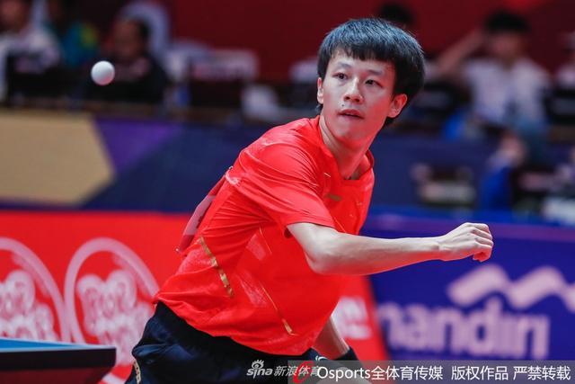 亚运会乒乓球男团半决赛:中国vs中国台北