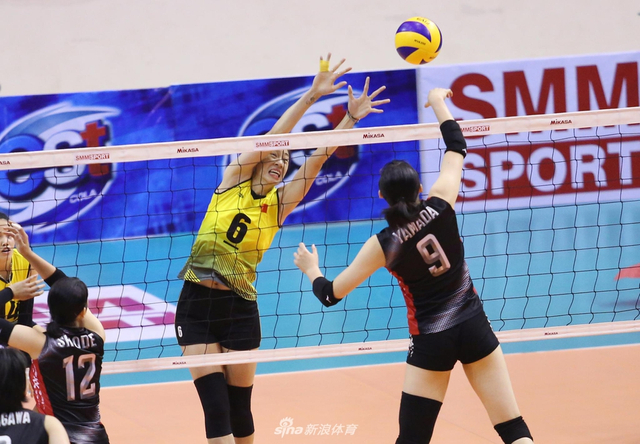 女排亚洲杯日本3-1越南进四强