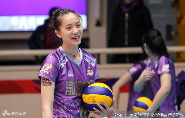 2018-2019赛季女排超级联赛半决赛第1场:天津女排vs江苏女排
