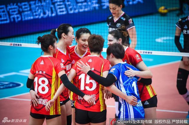 2018-2019赛季女排超级联赛半决赛第1场:北京女排vs上海女排