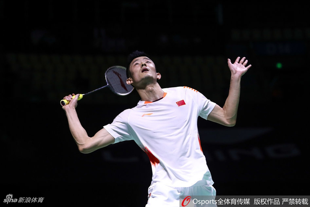 2018年11月9日,2018年中国(福州)羽毛球公开赛男双1/4决赛,谌龙2:0胜安东森。