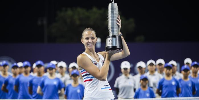 卡-普利斯科娃入圍年終總決賽 今年四冠并取49勝