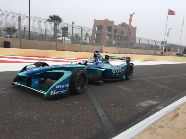 1月13日,2017至18赛季FE电动方程式锦标赛摩洛哥马拉喀什站排位赛结束。