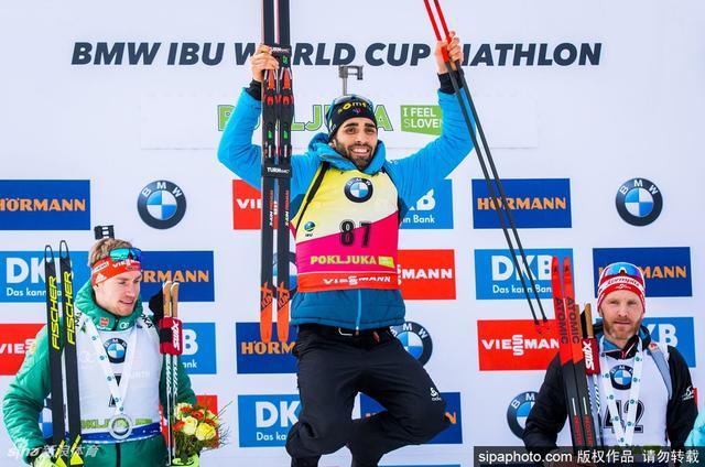 当地时间2018年12月6日,斯洛文尼亚,2018/19IBU冬季两项世界杯斯洛文尼亚站:男子20公里个人赛第5日赛况。
