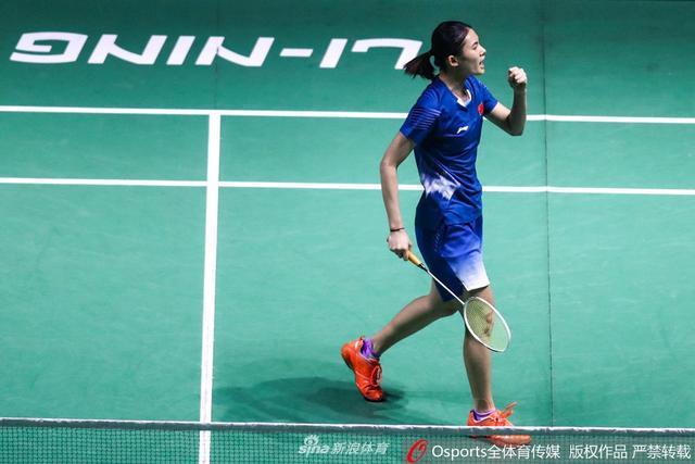 2018年中国(福州)羽毛球公开赛女单首轮:韩悦2:0胜大堀彩