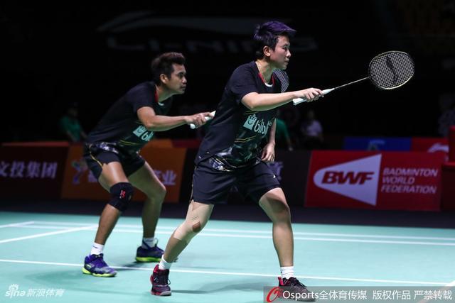 2018年中国(福州)羽毛球公开赛混双1/4决赛:何济霆/杜玥2:0胜阿马德/纳西尔