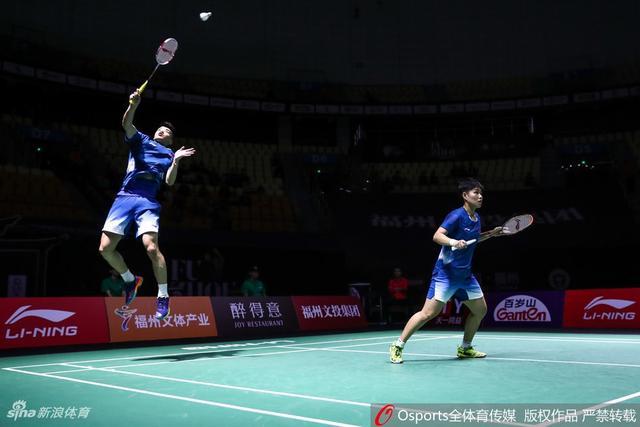 2018年中国(福州)羽毛球公开赛混双1/4决赛:王懿律/黄东萍2:1胜乔丹/奥克塔维安蒂