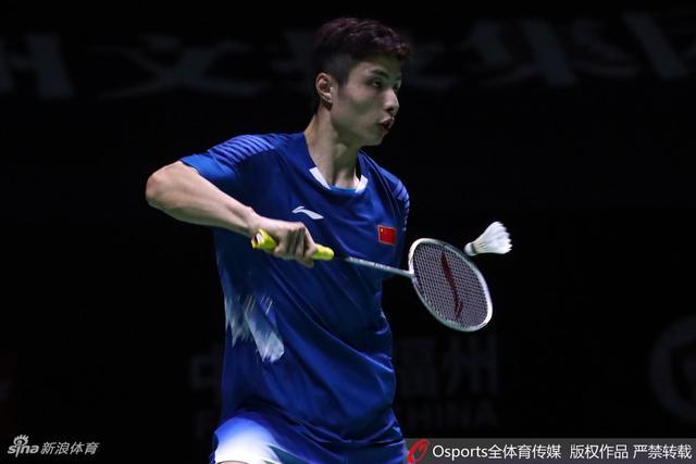 2018年中国(福州)羽毛球公开赛男单1/4决赛:石宇奇2-1金廷