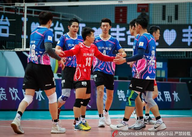 北京时间2018年1月14日,2017-2018赛季中国男排超级联赛第13轮:北京3-2福建。