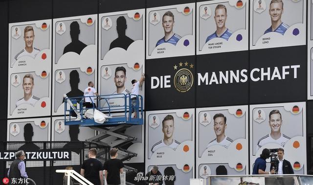 当地时间2018年5月15日,德国多特蒙德,德国足协召开发布会公布2018世界杯初选大名单