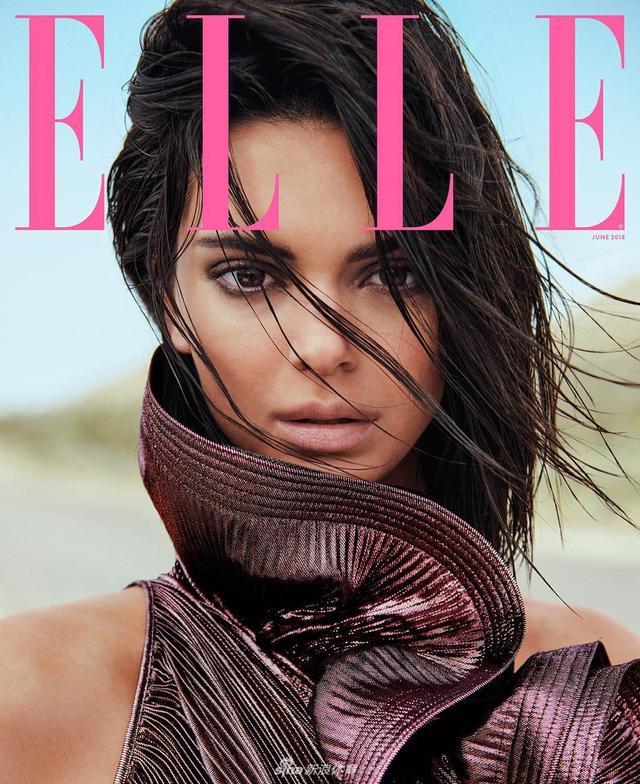 NBA球星格里芬前女友、超模肯达尔-詹娜近日为时尚杂志《Elle》拍摄杂志写真,有着一双大长腿的詹娜把自己的冷艳演绎到极致,一起来看看: