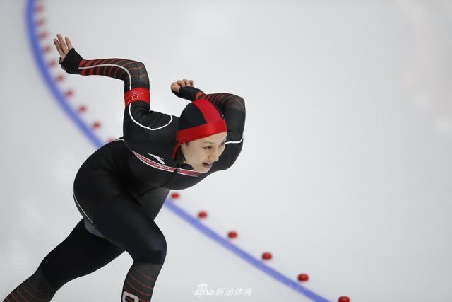 2018年2月14日,2018冬奥会,女子速滑1000米比赛在江陵冰上中心举行。新浪体育 李欣/摄(发自江陵)