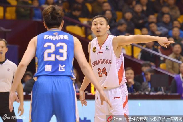 北京时间11月8日,CBA联赛第9轮,山东100-82肯帝亚。