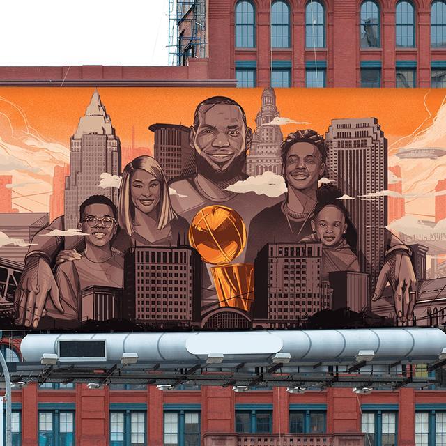如果NBA30支球队用广告牌的形式招募詹姆斯,他们会怎样设计呢?ESPN推出恶搞图,这些梗你都看懂了吗?