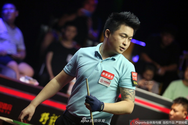 中式台球挑战赛郑宇伯vs杨绍杰图片