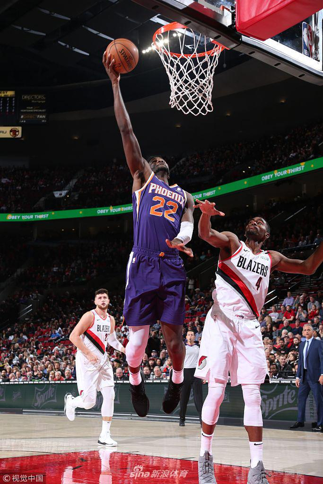 北京时间12月7日,NBA常规赛,波特兰开拓者主场108比86击败了太阳。