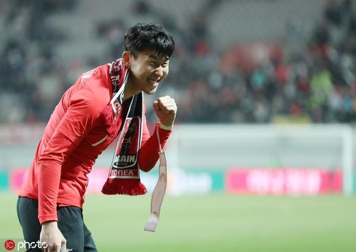 韩国2-1哥伦比亚孙兴慜个人秀
