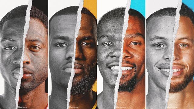 一组NBA球星的新秀时期照片和现在的照片对比:大部分人从青涩变成熟,像詹姆斯库里,甚至还有一些变得相当沧桑,像甜瓜就是一脸的褶子,不过也有人几乎没变化,像KD杜兰特和欧文基本变化不大,一起来看看:
