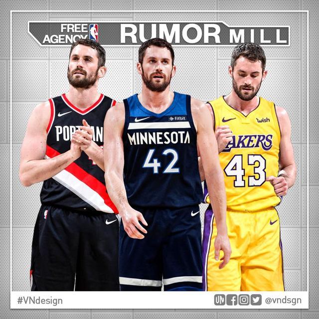 北京时间7月9日,据《hoopshype》报道,NBA进入休赛期,克里夫兰骑士已经基本重建,勒布朗-詹姆斯离去后,他们是否要交易另一个核心凯文-勒夫呢?勒夫如今身背2年合同,想自己走不那么容易,但是骑士也未必要留下勒夫,让我们看看勒夫的4个潜在追求者吧。