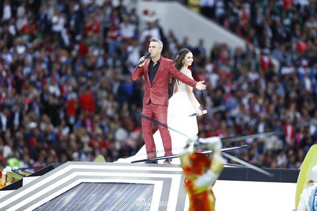 2018年6月14日,2018俄罗斯世界杯开幕式在卢日尼基球场举行。( 新浪体育 李欣/摄 发自莫斯科)