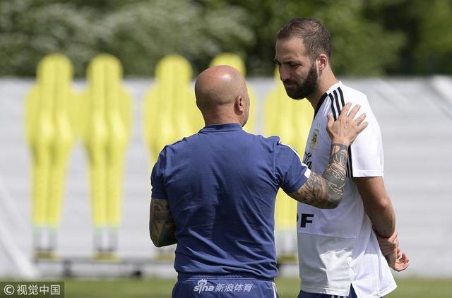 2018年6月12日,俄罗斯,2018俄罗斯世界杯前瞻,阿根廷训练备战。