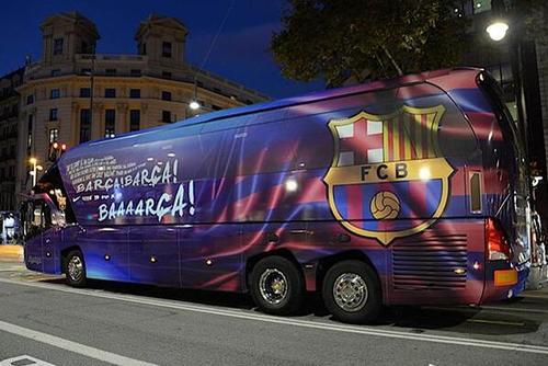 欧洲俱乐部大巴 哪家最漂亮