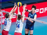 世界女排联赛塞尔维亚3-1韩国