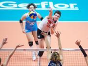 2019世界女排联赛荷兰1-3土耳其