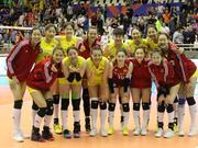 世联朱婷休战中国女排3-0比利时