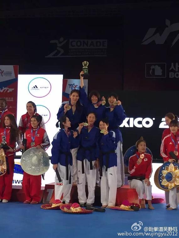 中國女隊的姑娘們