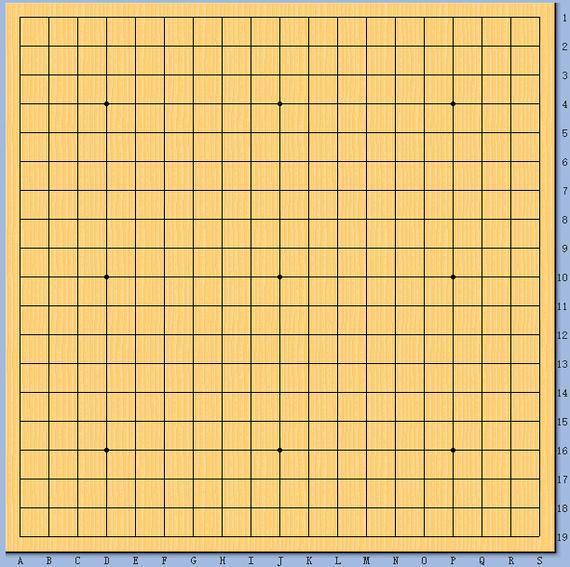 正规围棋棋盘大小_围棋比赛棋盘大小-围棋棋盘标准大小