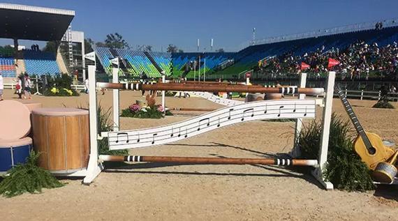 里約奧運會場地障礙賽的路線設計師guilherme jorge曾在接受