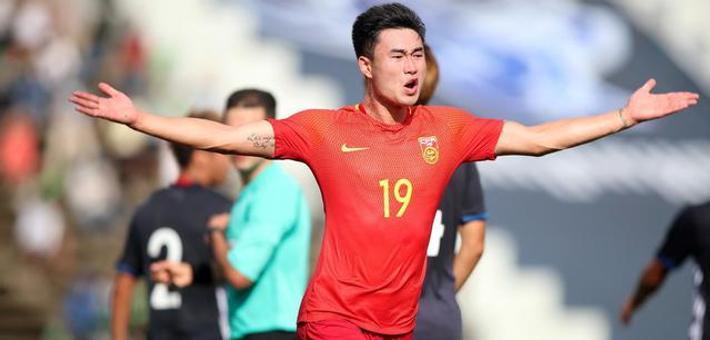 U23亚预赛中国2-1日本夺头名