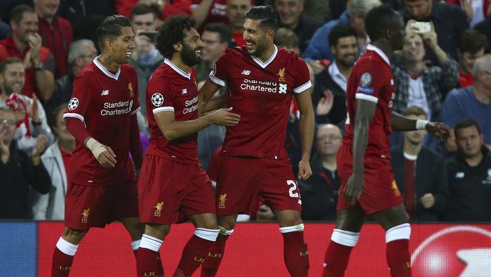 欧冠-新援破门 利物浦总分6-3晋级